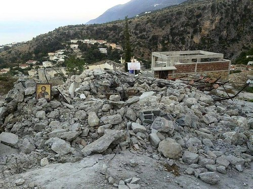 OCMC News - Destruction of a Church in Albania