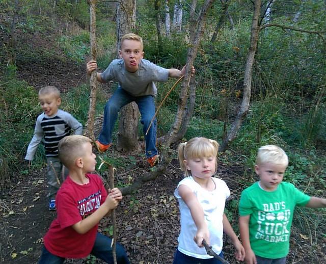 Weirdos in the woods