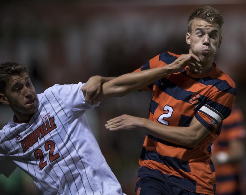 Syracuse University vs Louisville Men's Soccer, Sept 11, 2015