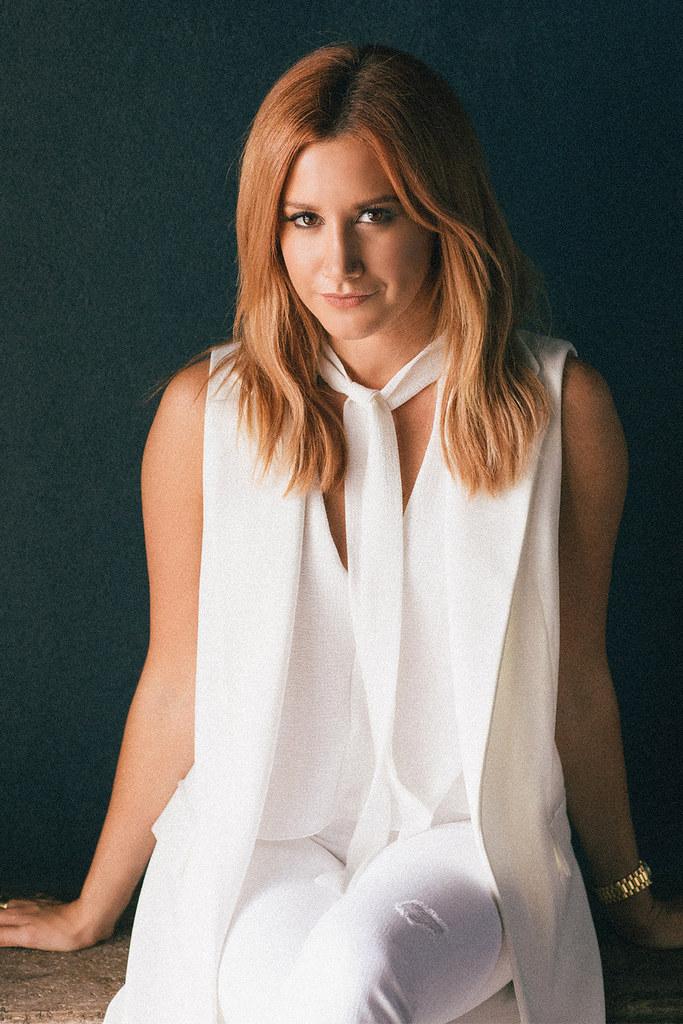 Эшли Тисдейл — Фотосессия для «Elle» 2015 – 3