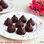 Chocolate peda modak