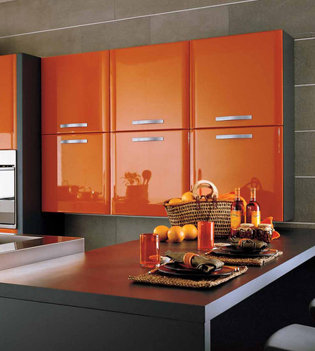 Decoración y Diseño en Color Naranja