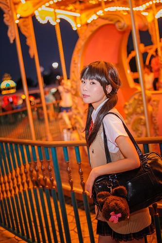 夜遊び遊園地