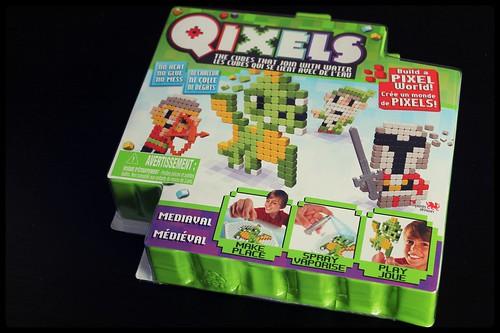 Qixels - un monde de pixels