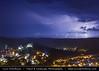 Romania - Transylvania - Sighișoara - UNESCO World Heritage Site during heavy storm