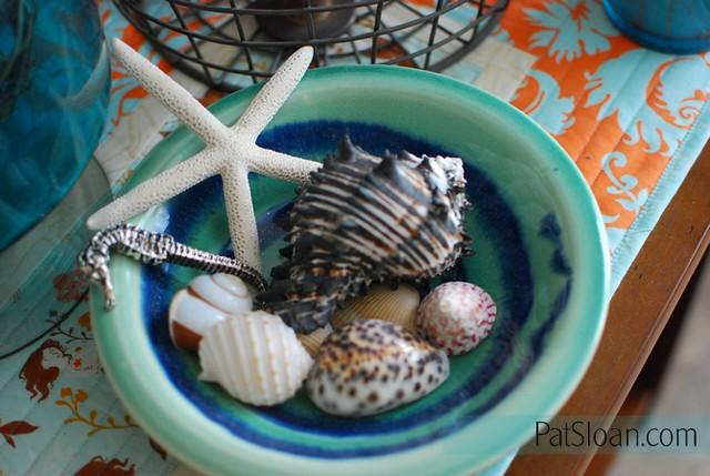 Pat Sloan Vacation Time 10 setting seashells