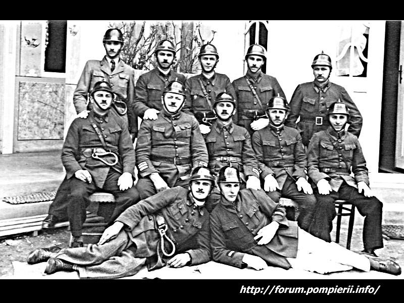 Pompierii voluntari Teius in anul 1925