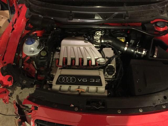 Vwvortexcom 2002 Audi Tt Alms Edition With 32 Swap Part Out