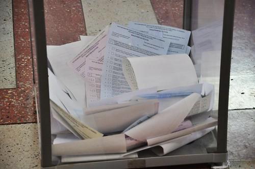 За депутатство в облраді змагалися 734 кандидати