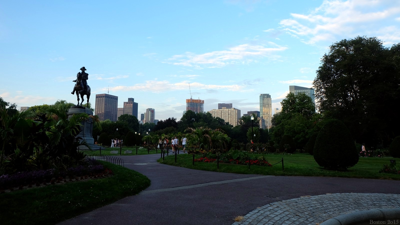 Public Garden, Boston, MA, USA
