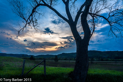 park eve sunset sun set clouds landscape evening tennessee national greatsmokymountains cadescove gsmnp sparkslane