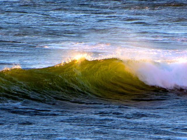 wind on waves