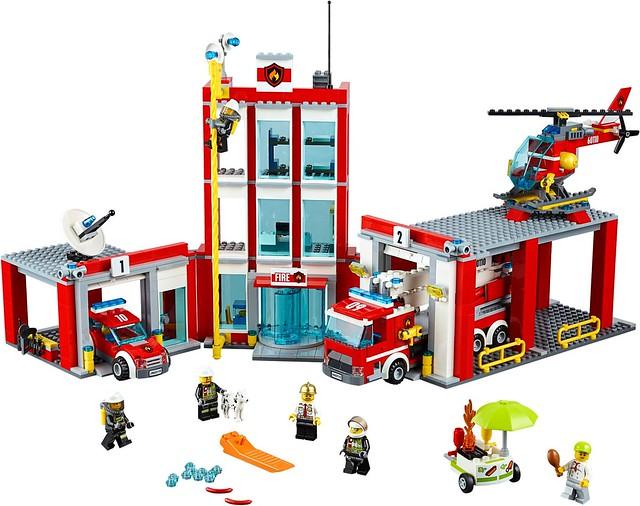 LEGO City 2016 sets   60110 - Fire Station