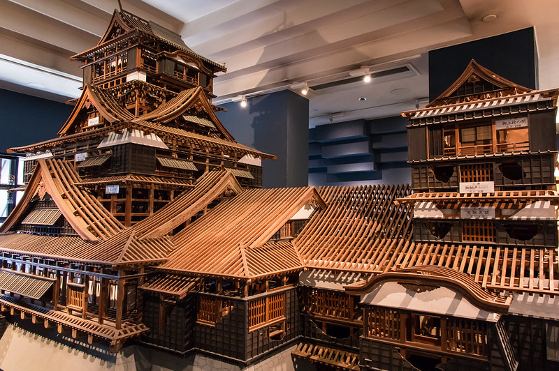 Mniature of Kumamoto Castle