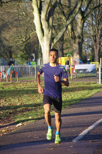 watch ffc1a 9f91a Our mystery man clocked in at just under 18 minutes and was followed  closely across the line by the far more identifiable figures of Stephen  Blakey and ...