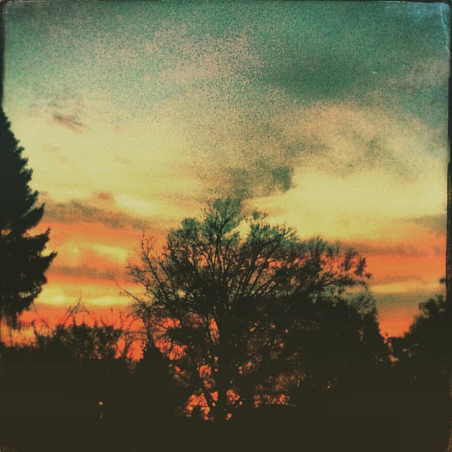 Sunset #sunsets #skies #Bloomington