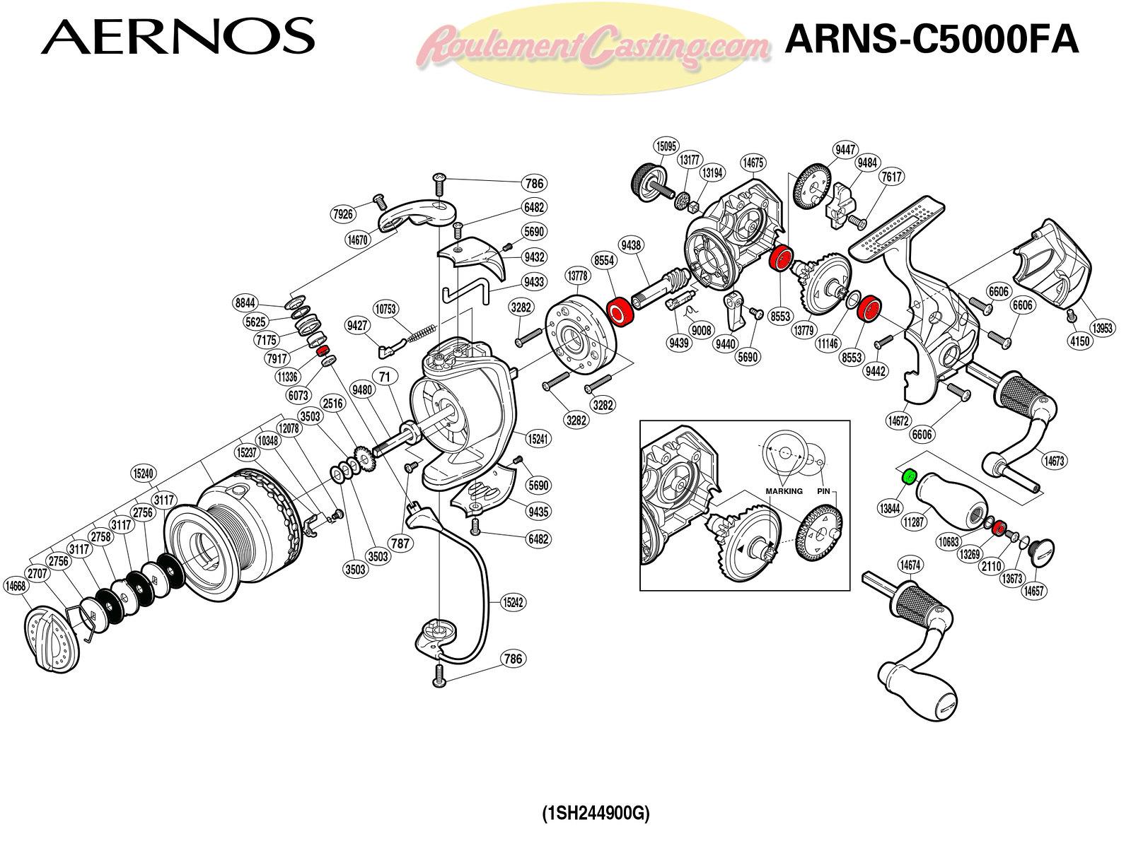 Schema-Shimano-AERNOS-C5000FA