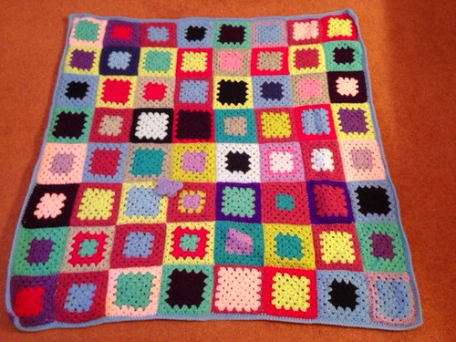 1186 My favourite Square made by Julie thank you.