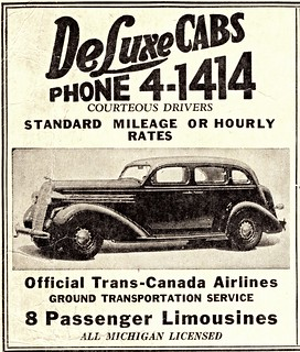 1936 Dodge Taxicab