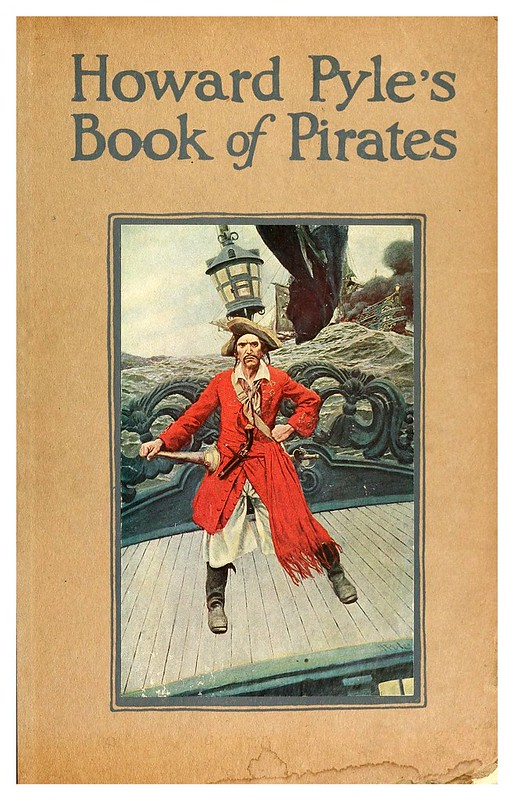001-Portada- Howard Pyle's book of pirates..1921