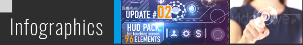 149 HUD Elements Pack for Touch Screen - 31