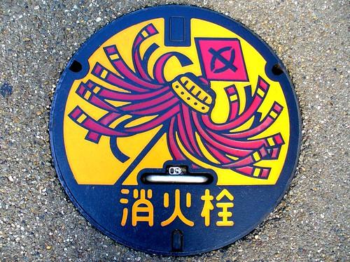 Kusatsu Shiga, manhole cover 5 (滋賀県草津市のマンホール5)