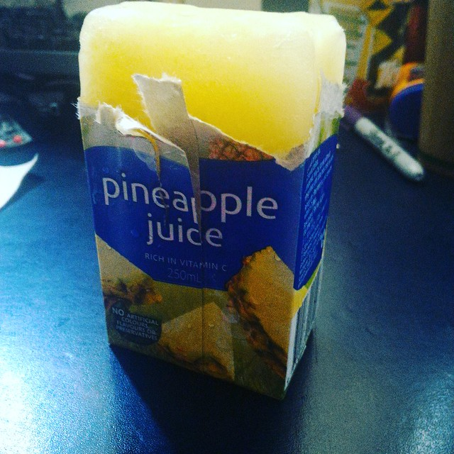 pineapple juice  poppers