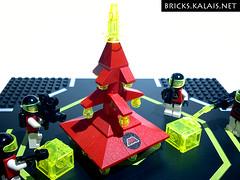 Lego M:Tron Xmas tree
