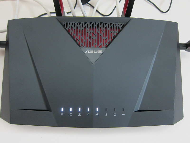 Asus RT-AC88U Router - Indicators