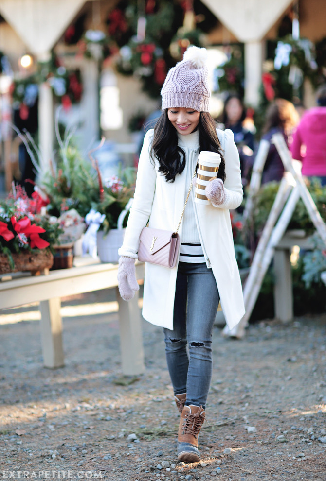 winter-outfit-sorel-pink-gray-1