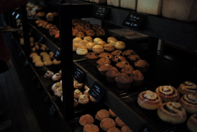 A lot of muffins