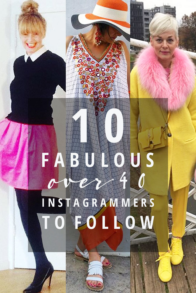 10 Fabulous Over 40 Fashion Bloggers to Follow on Instagram
