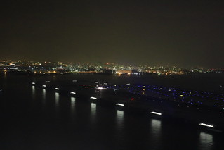 羽田空港, 着陸直前