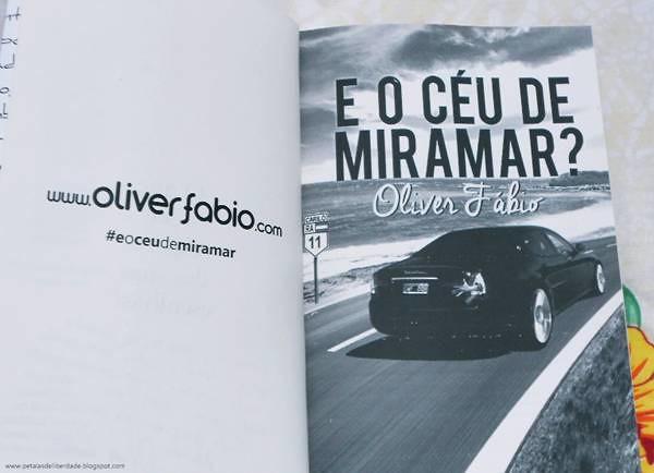 Resenha, livro, E o céu de Miramar?, Oliver Fábio, Argentina, publicação independente, literatura nacional,