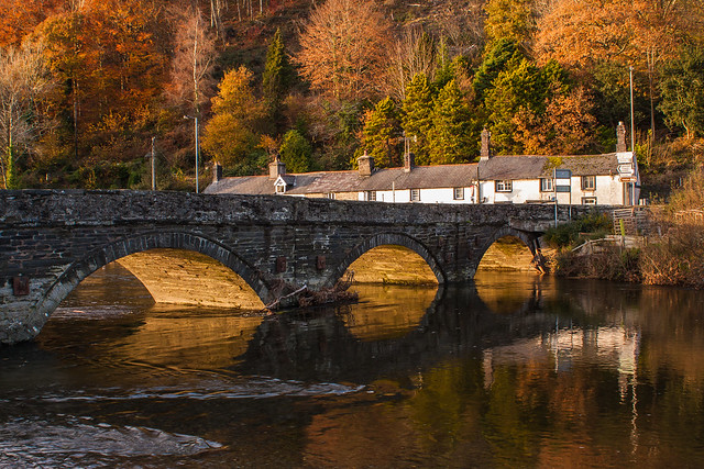 Pont Ar Ddyfi - Dyfi Bridge, Machynlleth.