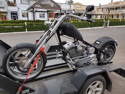Chopped Harley Davidson