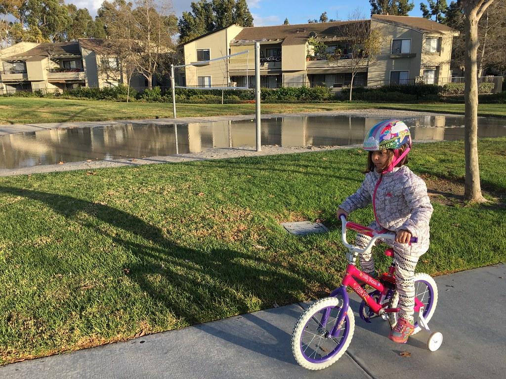San Diego Creek & Bike Path