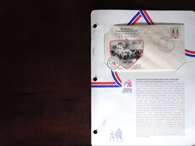 American Revolution Bicentennial First Day Covers by StampPhenom.com