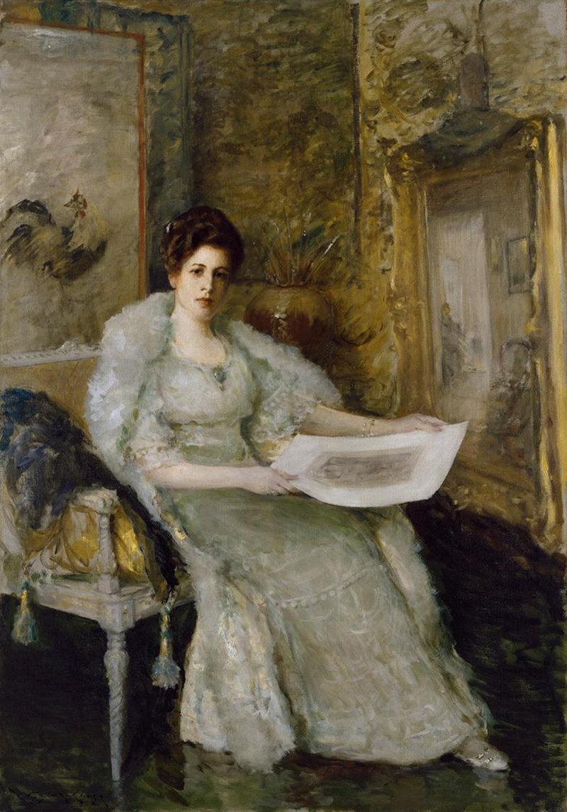 Susan Watkins by William Merritt Chase, 1914