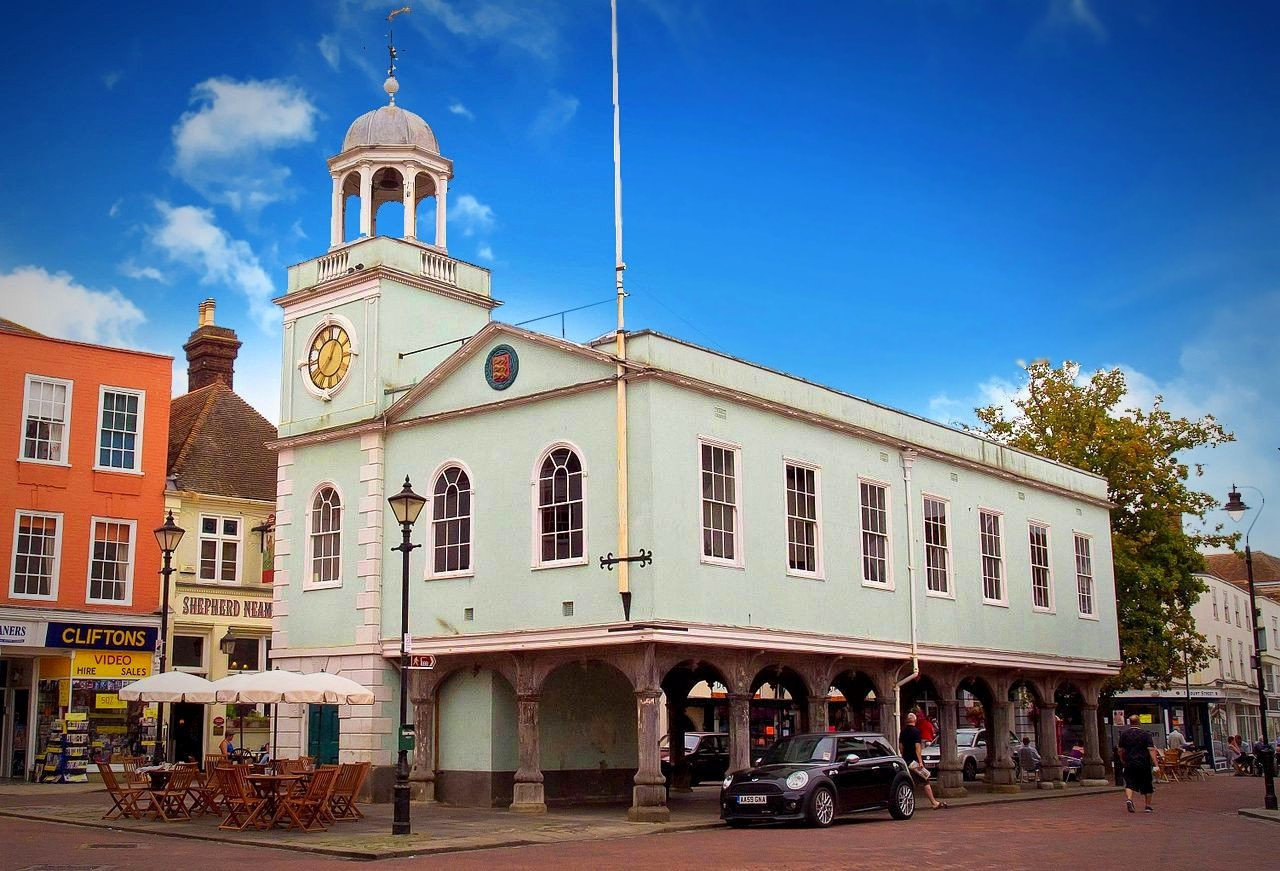 Faversham Market. Credit Ed Webster