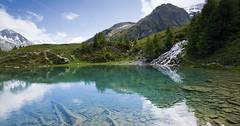Arolla - vesnička v závěru Val d´Herence leží na trase Haute Route