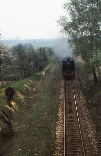1991-04-28; 007. DR 01 2137-6 met P8015. Neunhofen. Plandampf Saalfeld-Gera