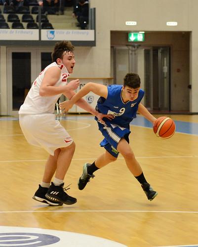 Grande Finale Fribourg Académie U16m -  Swiss Central Basket 45