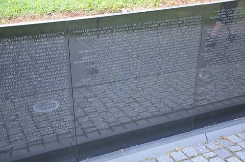 Washington DC Vietnam Veterans Memorial Jul 15 (2)