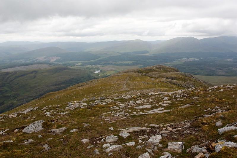 Descent of Stob Coire Sgriodain