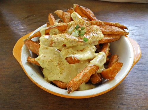 Salted Egg Sweet Potato Fries