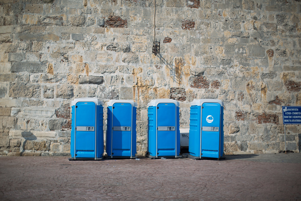 Toaletter på gata