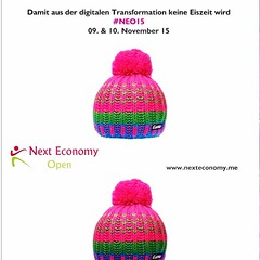 Bemützt zur Next Economy Open am 9. und 10. November in Bonn #NEO15 https://www.xing.com/events/next-economy-open-neo15-1584494