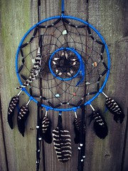 Dream Catcher Black and Blue
