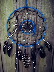Dream Catcher Black and Blue